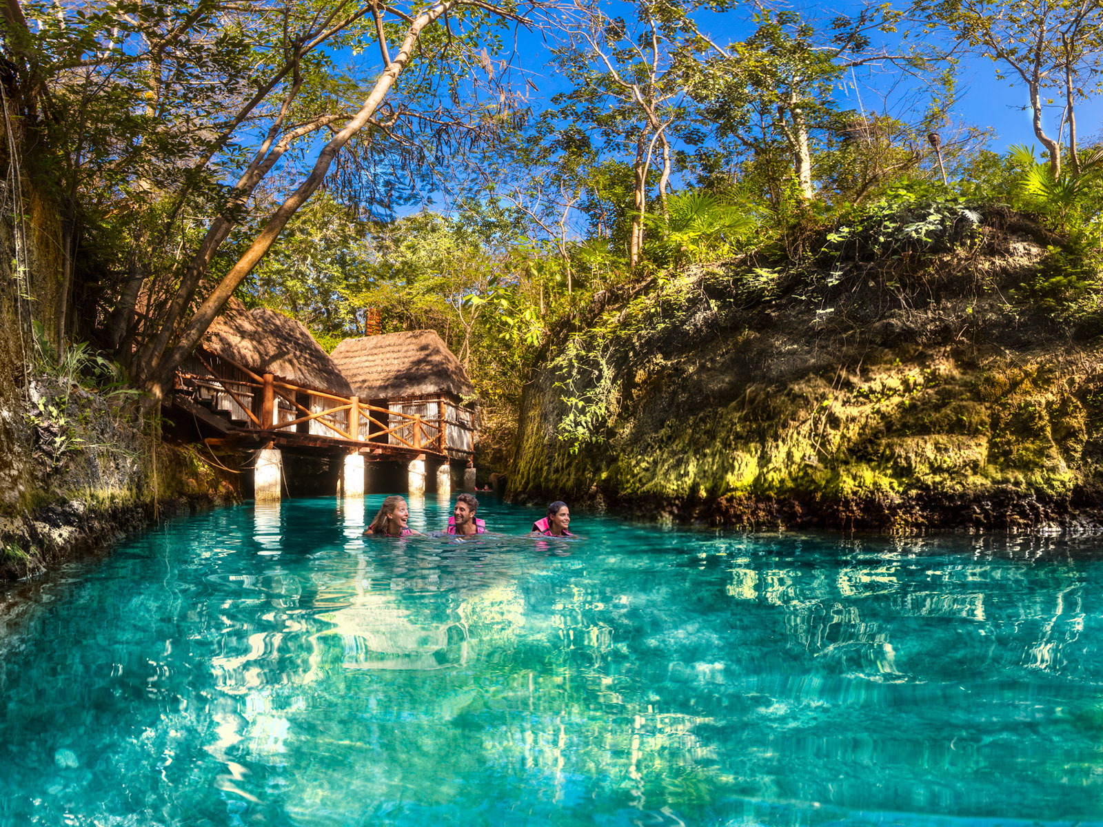 Xcaret Eco-Waterpark Excursion From Cancun - Cancun ...  |Xcaret Adventure Park